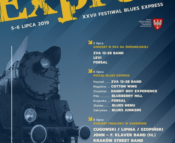 Blues Express 2019!